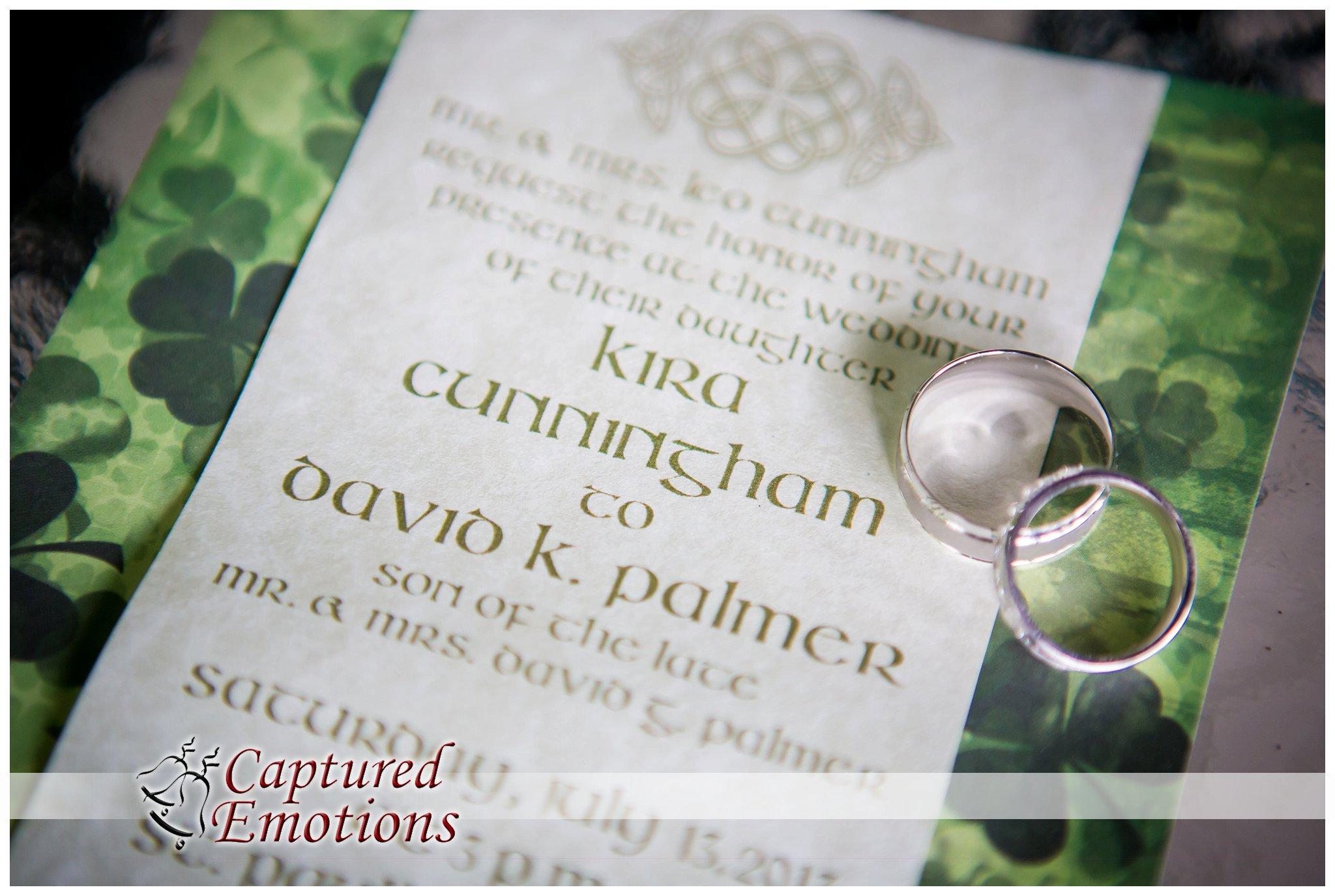 Happy St. Patrick\'s Day | Irish Themed Wedding | Captured Emotions ...